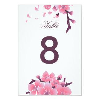 Sakura cherry blossom flower wedding card