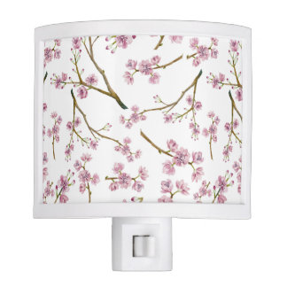 Sakura Cherry Blossom Print Nite Lights