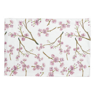 Sakura Cherry Blossom Print Pillowcase