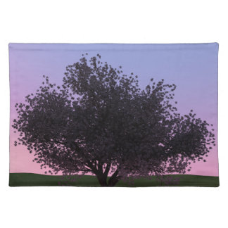 Sakura Cherry Tree at Dusk Placemat