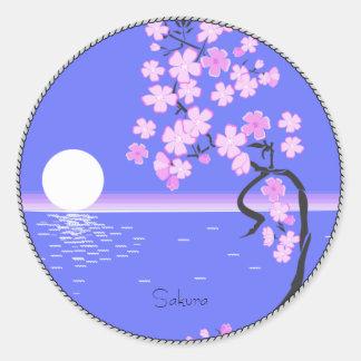 Sakura Classic Round Sticker