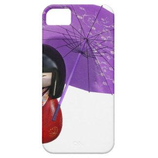 Sakura Doll with Umbrella iPhone 5 Cases