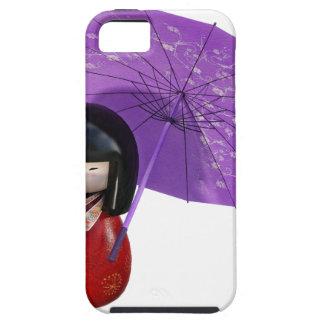 Sakura Doll with Umbrella iPhone 5 Covers