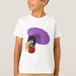 Sakura Doll with Umbrella T-Shirt