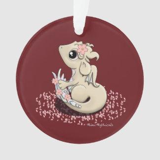 Sakura Dragon Ornament