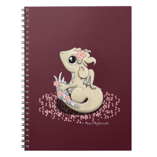 Sakura Dragon Spiral Notebook