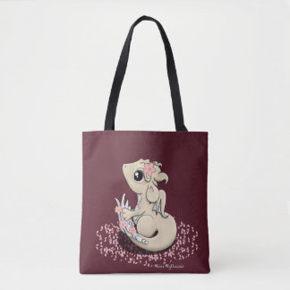 Sakura Dragon Tote Bag