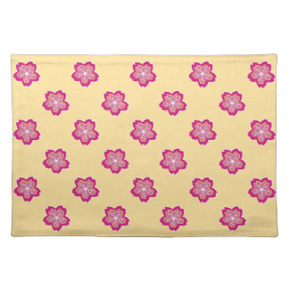 Sakura Floral Batik Blossoms Placemat