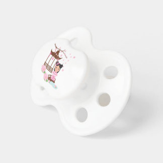 Sakura flower cherryblossom - Girl in Japan Pacifier