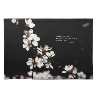 Sakura flowers placemats