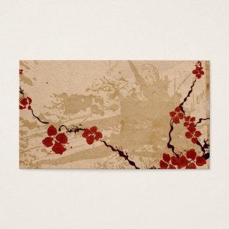 Sakura flowers Profile Card