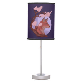 Sakura Fox Table Lamp