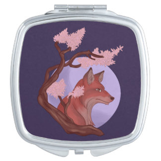 Sakura Fox Travel Mirrors