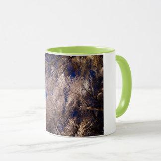 sakura in kyoto mug
