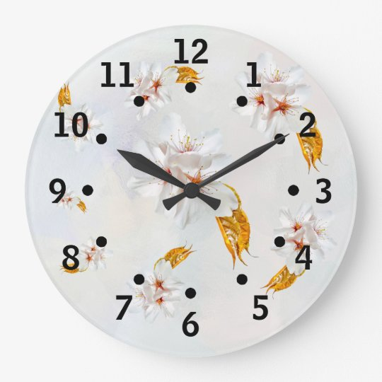 Sakura - Japanese cherry blossom Wallclocks