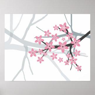 Sakura - Japanese Cherry Tree Blossom Print