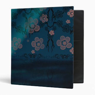Sakura Lagoon 3 Ring Binders