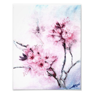 Sakura mini photo print