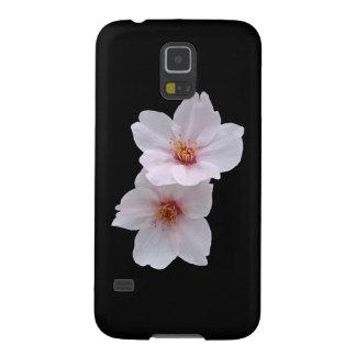 Sakura on Black Galaxy S5 Cover