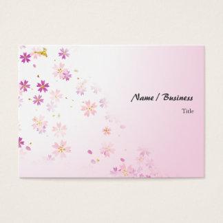 Sakura Pink Business Card