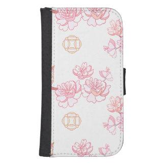 Sakura,spring blossom,Japanese cherry blossom, tre Samsung S4 Wallet Case