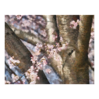Sakura - Spring Blossom Letterhead