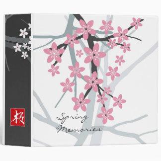 Sakura - Stylish Floral Binder