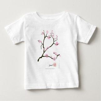 sakura tree and birds tony fernandes baby T-Shirt