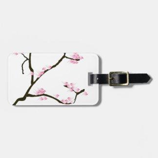 sakura tree and birds tony fernandes luggage tag