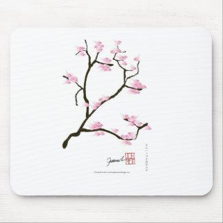 sakura tree and birds tony fernandes mouse pad