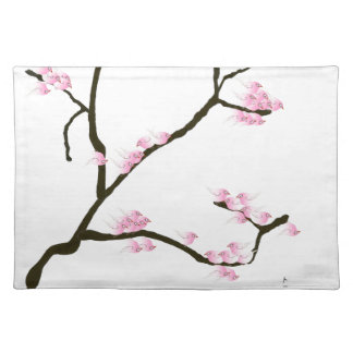 sakura tree and birds tony fernandes placemat