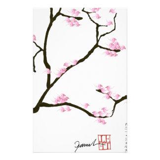sakura tree and birds tony fernandes stationery