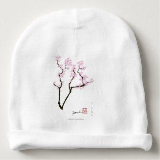 sakura with pink goldfish, tony fernandes baby beanie