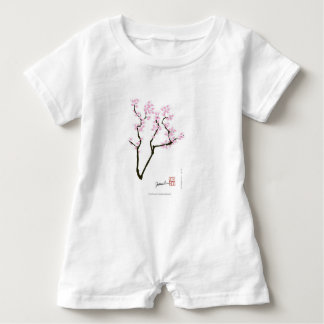 sakura with pink goldfish, tony fernandes baby romper