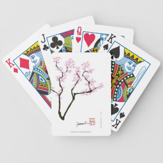 sakura with pink goldfish, tony fernandes bicycle playing cards