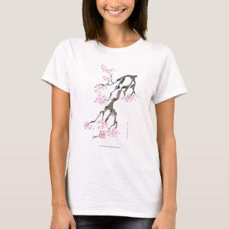 sakura with pink goldfish, tony fernandes T-Shirt
