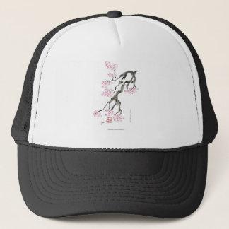sakura with pink goldfish, tony fernandes trucker hat