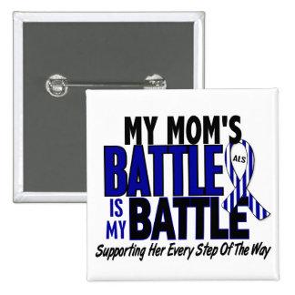 SAL ma bataille trop 1 maman Pin's Avec Agrafe