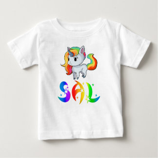 Sal Unicorn Baby T-Shirt