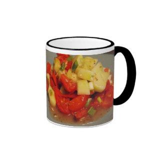 Salad and Recipe Mug