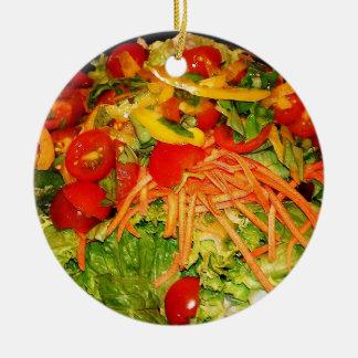 Salad Brite Ceramic Ornament