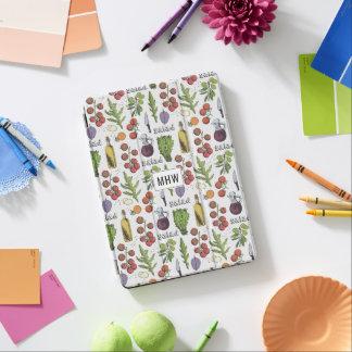 Salad Pattern custom monogram device covers iPad Air Cover