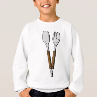Salad Tongs Sweatshirt
