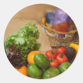 Salad Tonight! Classic Round Sticker
