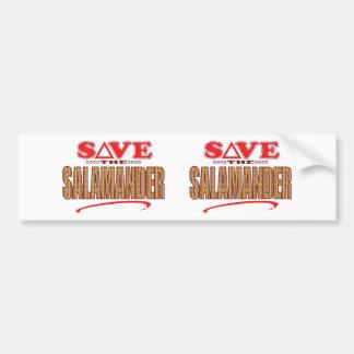 Salamander Save Bumper Sticker