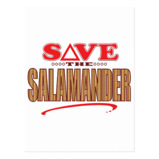 Salamander Save Postcard