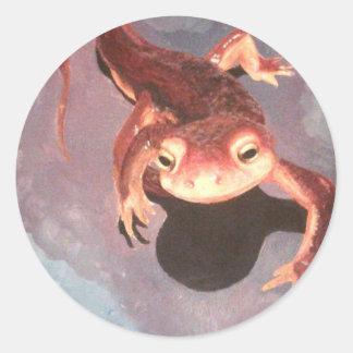 Salamander Stickers-Round Classic Round Sticker