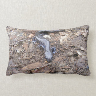 Salamander Throw Pillow