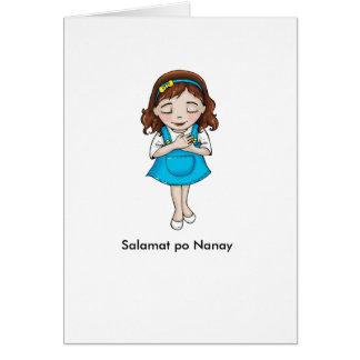 Salamat po Nanay Card