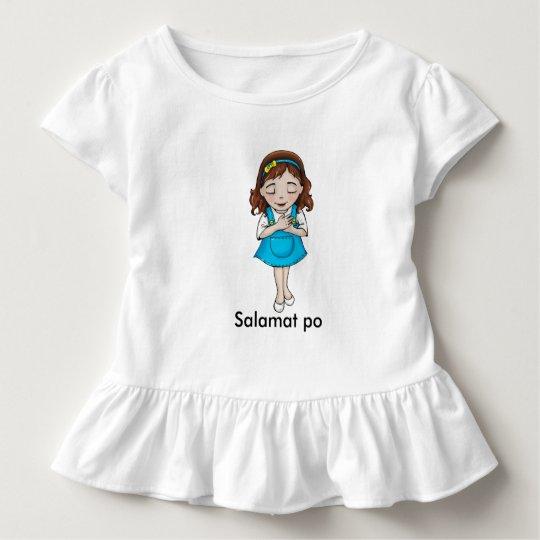 Salamat po toddler t-shirt